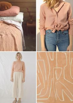 color story: apricot.