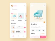 This is the first part of my UX/UI Design Inspiration series. The series will feature collections of the best modern and trendy UX & UI designs for you to… Wireframe, Craft App, Design Ios, Game Design, Graphic Design, Mobile App Design, Mobile Ui, Apps, Ui Design Inspiration