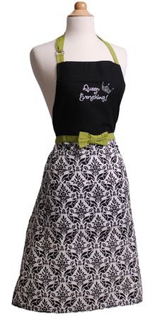 Flirty Aprons - Kay Dee Queen of Everything COOK20 – 20% off entire order - expires: 09/01/2014