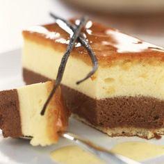 Bavarois chocolat vanille