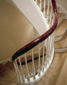 curved banister - Google Search