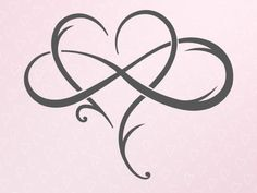 Valentine Day SVG The Love Between Mother and Daughter SVG File for Cricut Infinity Symbol Heart Clipart Sign Polyamory Silhouette Laser Cut - Zeichnungen - tattoos Tattoos Skull, Mom Tattoos, Wrist Tattoos, Couple Tattoos, Trendy Tattoos, Body Art Tattoos, Star Tattoos, Bird Tattoos, Heart With Infinity Tattoo