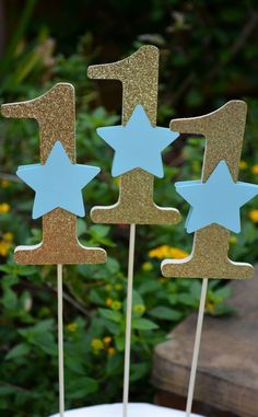 Twinkle Twinkle Little Star First Birthday Decorations Twinkle Twinkle Little Table Decoration Gold Age Centerpieces Glitter Age Cake Topper Twinkle Twinkle Little Star, Birthday Cupcakes, Birthday Parties, Pom Pom Centerpieces, First Birthday Decorations, Star Cakes, Cake Banner, Photo Banner, Decoration Table