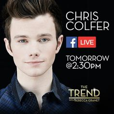Can't wait to chat with @chriscolfer tomorrow on #TheTrend about his new book, #StrangerThanFanfiction!