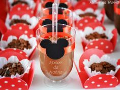 diy minnie birthday ideas | Mickey Mouse Themed Birthday Party - Kara's Party Ideas - The Place ...