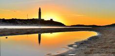 Trafalgar Lighthouse (visit sunset, NorthWest from Tarifa)