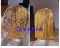 Box Braid Wig, Braids Wig, Cornrows, Box Braids, Micro Braids, Get Educated, Blue Ombre, Looking Gorgeous, Wigs