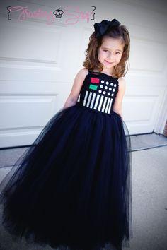 Star WarsDarth Vader Tutu Dress Costume by FrostingShop on Etsy, $75.00