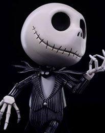 Nightmare Before Christmas Hybrid Metal Actionfigur Jack Skellington 15 cm