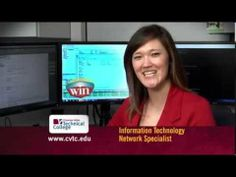 Erin Myren of Eau Claire is a graduate of CVTC's IT-Network Specialist program. Working as an IT network specialist has given her the opportunity to succeed in a high-demand industry at Wisconsin Independent Network in Eau Claire, WI. Visit www.cvtc.edu to learn more.