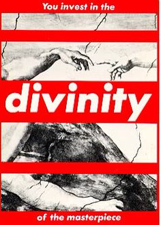 Barbara Kruger, Untitled (You Invest in the Divinity of the Masterpiece) US, postmodernism, feminism Barbara Kruger Art, A Level Art, Jasper Johns, Arte Pop, Art Moderne, The Masterpiece, Gcse Art, Famous Photographers, Moma
