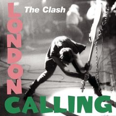 London Calling by The Clash (1979) | Community Post: 42 Classic Black And White Album Covers