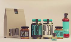 """""""These Spice Mode concepts are each unique in there own way. Representing Indian cuisine, designer Isabella Rodrigues embodies the idea of handcrafted spices.""""  via thedieline.com"""