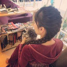 OFF TO ƘᗩᖇᑌƖZᗩᗯᗩ💚 今日はスッキリ表編み込み❤️ @ᒍETᔕETᗪEƳᗷᗩᖇ💜 林くんありがとう💙 ランチ食べてから軽井沢に行くよん💛#sisters #jetsetdrybar #dogfriendlysalon #jetsethair #tokyoblowdrybar #jetsetazabujuban #hairstyle #braids #photooftheday #princessgracekelly #silverpoodle #poodle #poodlepuppy #poodlelove #poodlesofficial #instapoodle #poodlestagram #instadog #dogstagrm #cutepuppy #cutedog #cutepet #puppy #puppygram #doglife #tokyolife #トイプードル #シルバープードル #愛犬 #軽井沢