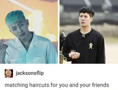 i think when their hairstylists asked what they had to do with namjoon and jacksons hair for those eras bighit and jyp went 'just fuck him up'