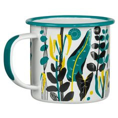 WILD & WOLF in partnership with the V&A museum. Design Palamos by Sylvia Chalmers. Leaf Prints, Floral Prints, Art Prints, Surface Pattern, Surface Design, Textile Patterns, Print Patterns, Illustration Main, Wild Wolf
