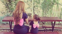 takie same sukienki dla mamy i córki/ Mother daughter matching dresses Mother Daughter Outfits, Mommy And Me Outfits, Future Daughter, Daughter Love, Daughters, My Baby Girl, Baby Kind, My Little Girl, Baby Girls