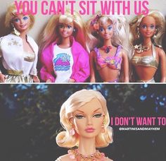 You can't sit with us - Mean girls Meme