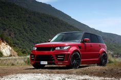 Red Lumma Range Rover Sport by TopCar