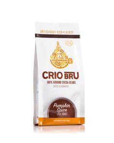 Cocoa Bean Drink, brew like coffee, pumpkin spice flavor // Crio Brü