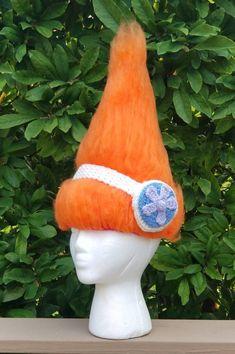 Black Photo Prop child Dance Costume trolls 2 Trolls Halloween Costume Trolls Wig SAD Branch Troll Crochet Hat Troll Hair