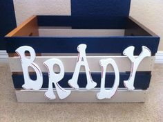 Brady sports themed box