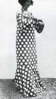 """Floge in """"A House Dress"""" [Wiener Werkstatte]"""