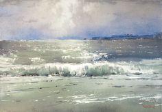 """Волны, несушие голоса далекого шторма"" | ""The waves bringing voices of the distant storm"""