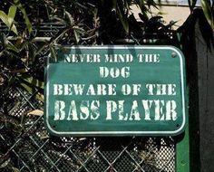 Another Bass Player Joke