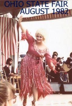 Dolly Parton @ the Ohio State Fair 1982