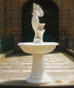 Garten Springbrunnen / Garden Fountain    www.outdoor-brunnen.de  #Fountains #Gartenbrunnen #Garten