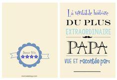 {Free} Un book pour les papas à imprimer et à compléter!