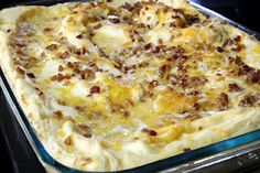 Twice Baked Potatoe Casserole