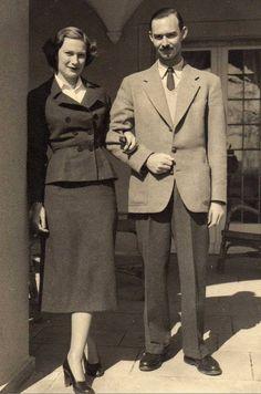 Princess Josephine Charlotte of Belgium and her fiance the Hereditary Grand Duke Jean of Luxembourg