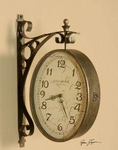 Uttermost Train Station Clock