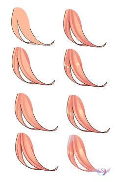 Drawing Tutorial Hair coloring tutorial (MY way) by MlpStarShineArtis - Digital Painting Tutorials, Digital Art Tutorial, Art Tutorials, Drawing Tutorials, Hair Reference, Art Reference Poses, Drawing Poses, Drawing Tips, Drawing Hair Tutorial