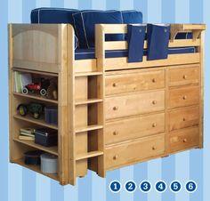 Maxtrix Kids Furniture - Kids Room Storage & Shelves