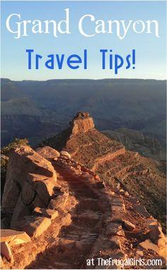 Grand Canyon National Park Tips