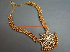 Contemporary Pachi Diamond Gold Haram