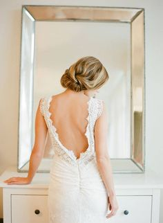 Another beautiful shot of our Miette gown
