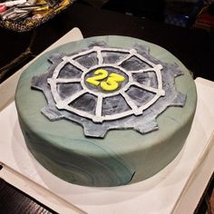 Fallout New Vegas or just 3 Vault-Tec Cake Inspiration
