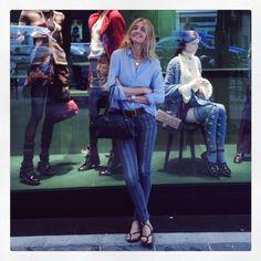 Fila VIP - Chanel Madrid