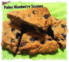 Blueberry Maple Scones | fastPaleo Primal and Paleo Diet Recipes