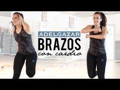 Tonificar y reducir los brazos | Ejercicios de brazos y cardio - YouTube