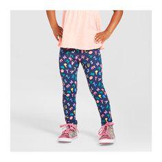 012f5d896 Toddler Girls' Favorite Leggings Alphabet Navy 5T- Cat & Jack, Size: 5T,  Blue