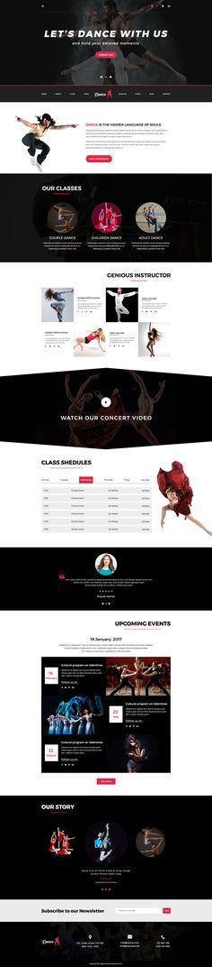 Dance ? is an awesome psd template perfect for professional use and dance academy. It's a clean and modern psd template professionalism for any types of Dance academy or Dance studio. It's spec...