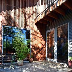 Timber rainscreen