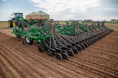 Great Plains 45 foot cultivator  air drill