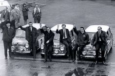 """50 years ago .. """" The Monte Carlo fiasco"""", the rally organisers declared the headlamp filaments illegal and disqualifies the first 3 Coopers, and handed the victory to the French Citroen, to be fare to Toivenon he refused to accept the trophy"""