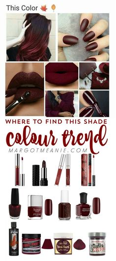 Where to Shop this Colour Trend for Fall and Winter